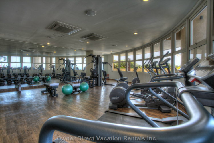 On Site Gym with Spectacular Ocean/Bay Views