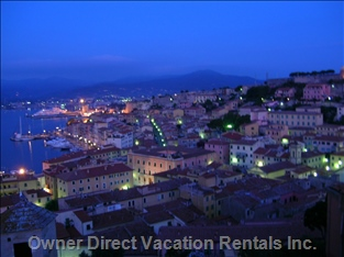 Night View of Portoferraio
