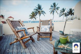 Enjoy the Breeze on your Private Sun Deck