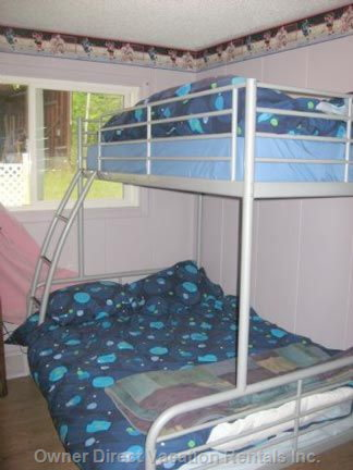 Kids Bedroom with Bunk Beds