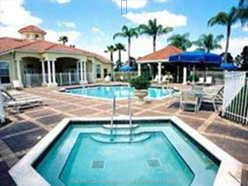 Emerald Island Clubhouse Pools, Hot-Tub and Game Room, 3 Blocks from our Home
