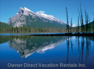Majestic Mount Rundle - Wow!