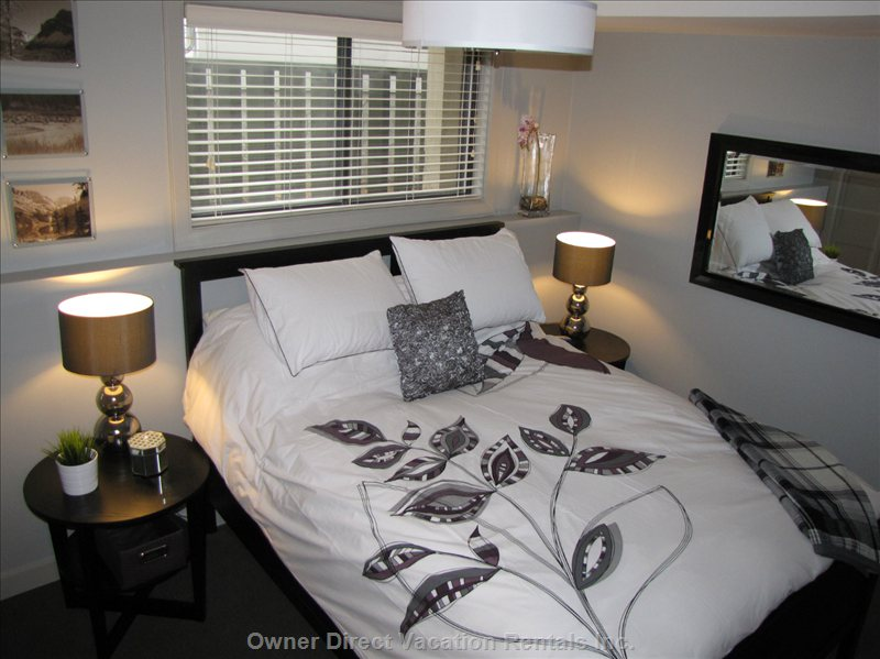 Bedroom 2 - a Queen Bed with Pillow Top...so Comfy!