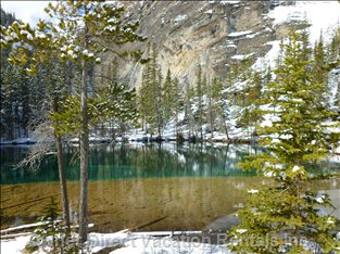 Grassi Lakes - Beautiful Hike Leads you to this Spectacular Area.  Waterfall & Lakes...nice Hike for the Family!