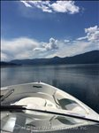 View of Lake Okanagan from your Boat.