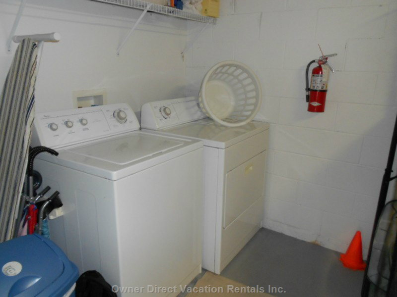 Full Laundry Area in House!