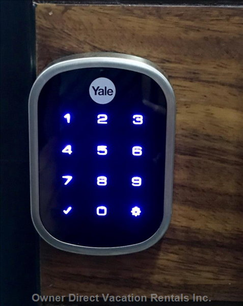 Keyless Lock. You Can Pick any 4 Digits to Use!