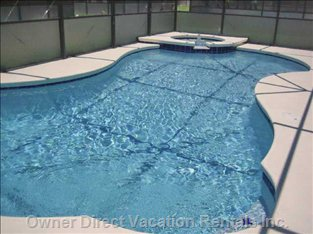 Pool with Screened Deck