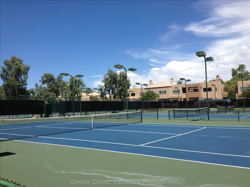 Free Use of Tennis Courts