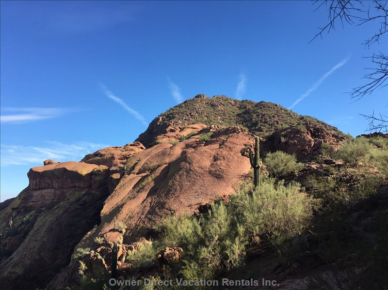 Great Views of Camelback Mountains