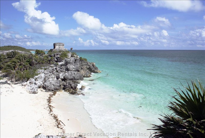 Tulum Archaeology Sites 15 Minutes Away
