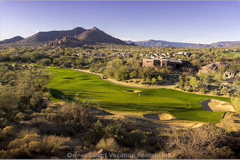 Golf Courses all around the Area with Breathtaking Panoramas!