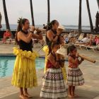 Entertainment at Sea Cliff Resort. Lei's are Often Presented to Guests