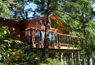 Private Waterfront Cabin on Quadra Island, Bc, Canada