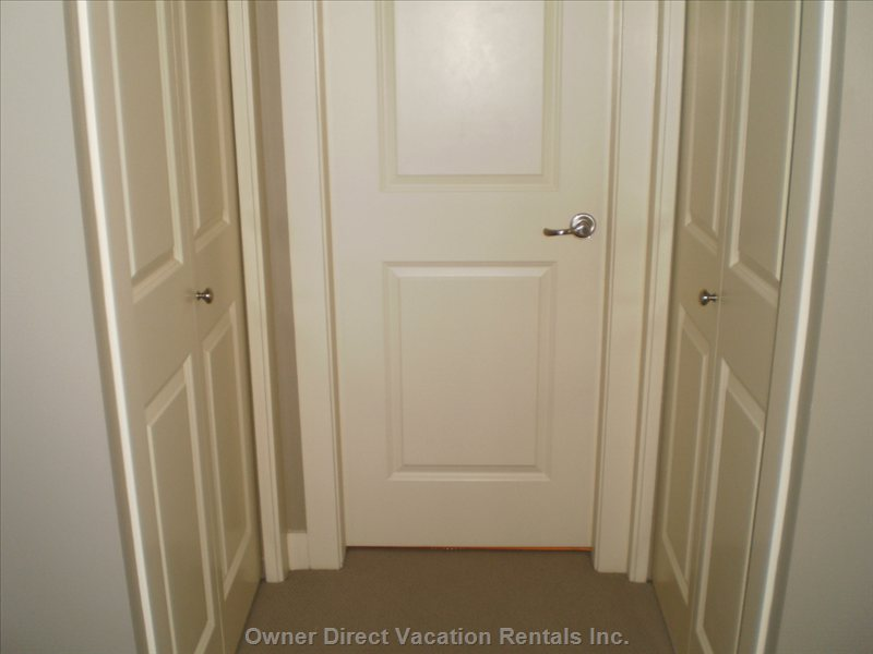 Plenty of Closet Space with Double Doors.