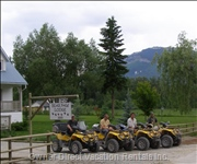 Great Location for Activities - Summer Activities Include Hiking, Mountain Biking, Atv Tours, River Rafting and Horse Riding.