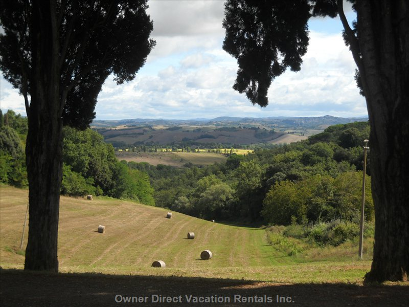 One of the Amazing Views of the Countryside from the Borgo