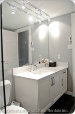 Completely Renovated Upstairs Bathroom