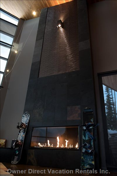 The Fireplace is Stunning, It's Really about ...