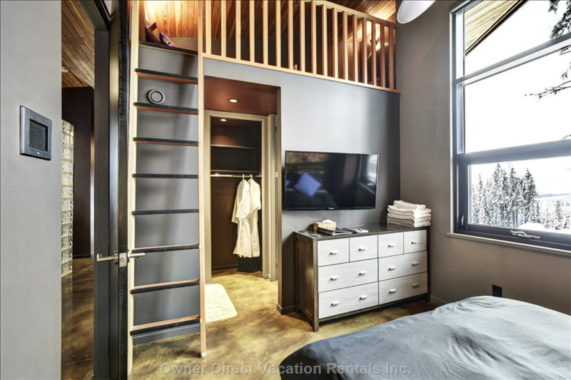 Both of the Guest Bedrooms Have their Own Ensuites and Lofts.