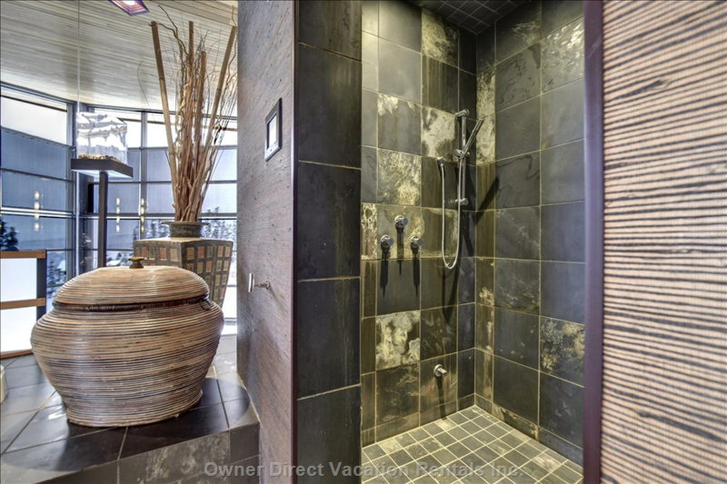 Our Master Ensuite's Steam Shower.