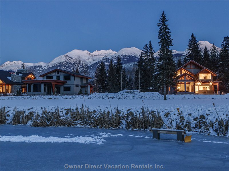 Whistler green lake map owner direct vacation rentals inc Whistler cabin rentals