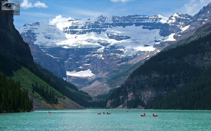 Vacation rental in alberta owner direct for Lake louise cabin rentals