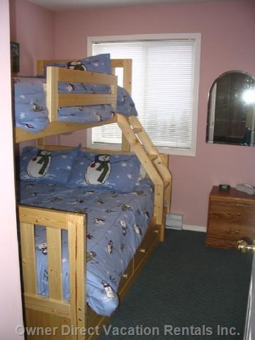 Bedroom #2 - Bunk Bed