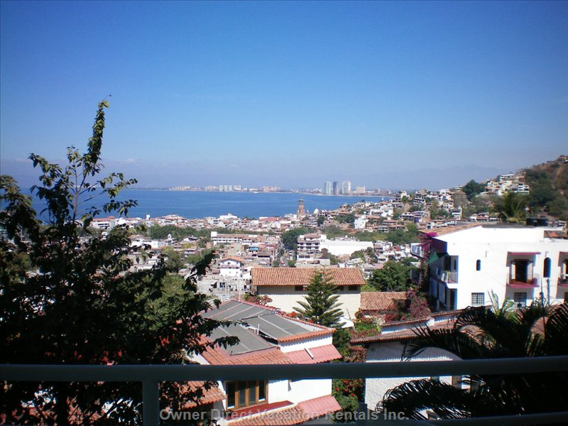 View of Bay from the Mountain