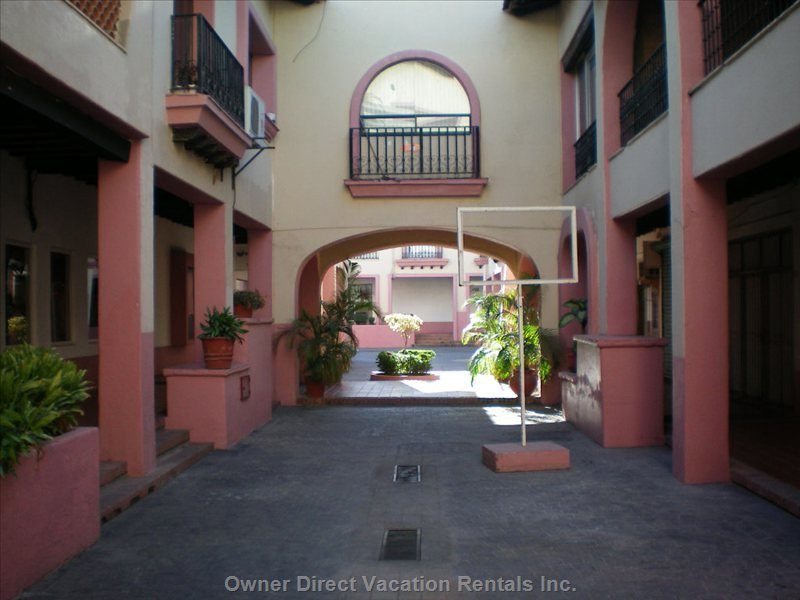 Inside of Villa Vallarta Complex