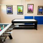 Games Room, Keep Cool W/ Ceiling Fan. Great to Enjoy a Relaxing Day at Home