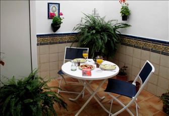 Flat  in the Centre Historic of Malaga with Andalusian Patio