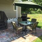 Back , Nice Patio, Private Bbq Area