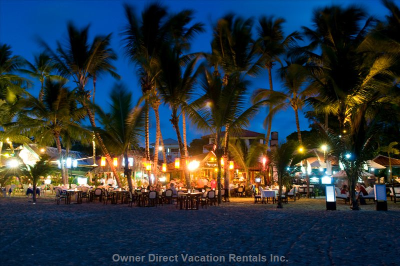 Direct Surroundings of the Object - Restaurants in Cabarete