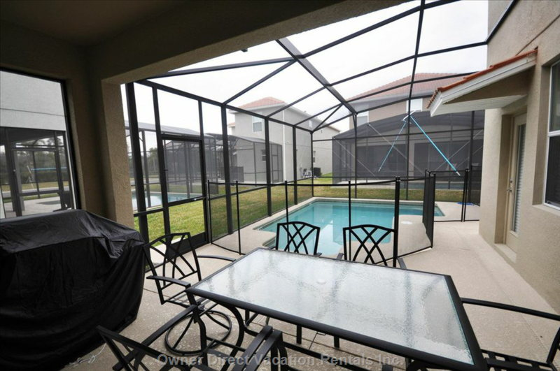 Pool and a Great Barbecue Grill!