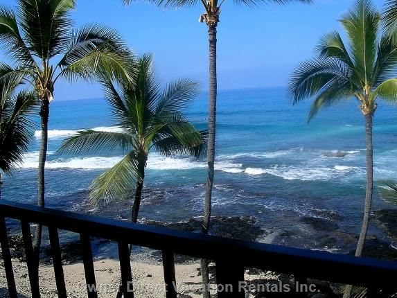 Beautiful Private, Lanai View from Top Floor