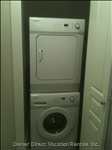 Washer and Dryer - Apartment Size Washer and Dryer Located Next to Kitchen (within Closet)