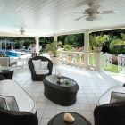 Relax in the Shade on the Comfortable and Cool Covered Terrace by the Pool