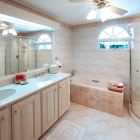 Master Bathroom Suite Includes Bathroom Amenities and Bathrobes for Guests' Use