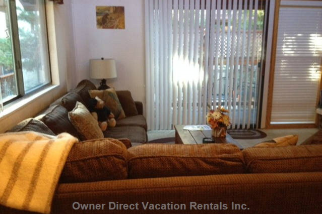 This is an End Unit, Extra Living Room Window Only End Units Have Provides Plenty of Natural Light.