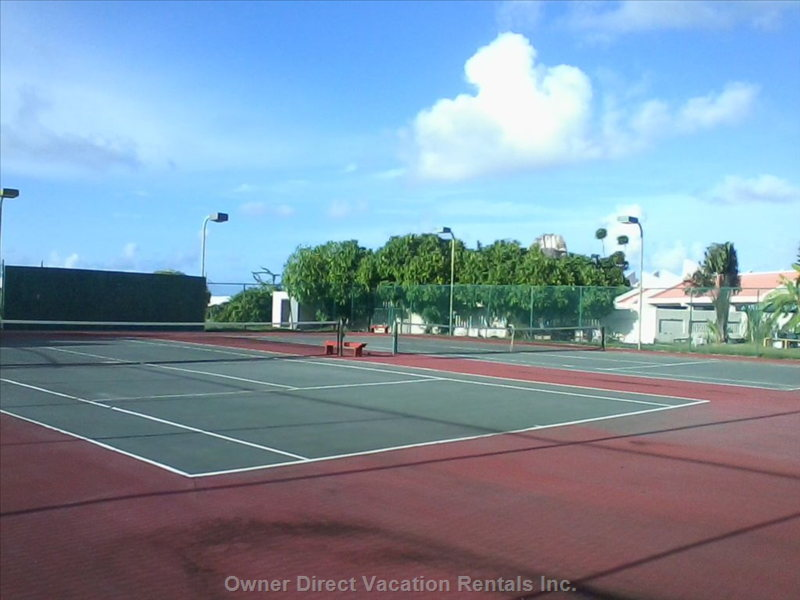 Two(2) Tennis Courts