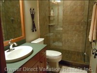 Lower Level Bathroom/Ensuite
