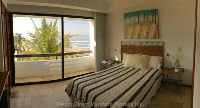 Enjoy a Beautiful View from Main Bedroom