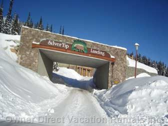 Entrance to Silver Tip Landing.