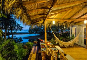 Beautiful Balinese House Right on the Beach of Tamarindo