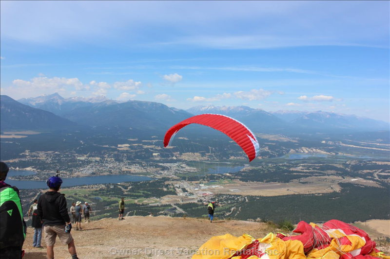 Hang Gliding from Mount Swansea