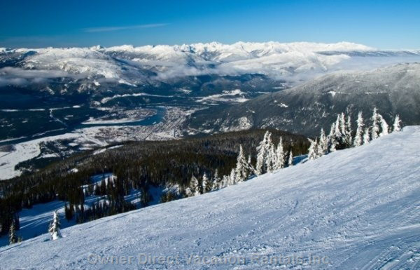 Ski the Highest Vertical in North America!   - Amazing Pistes: on and off Piste Skiing!