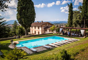 Tuscany Large Noble Villa with Private Pool and Park