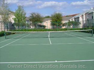 Clubhouse Tennis Court