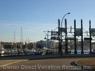 False Creek Waterfront- Steps Away from the Unit